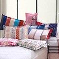 2PCS  48cmx74cm 100% Cotton High Quality PillowCase Cushion Case Decorative Pillowcase Free Shipping