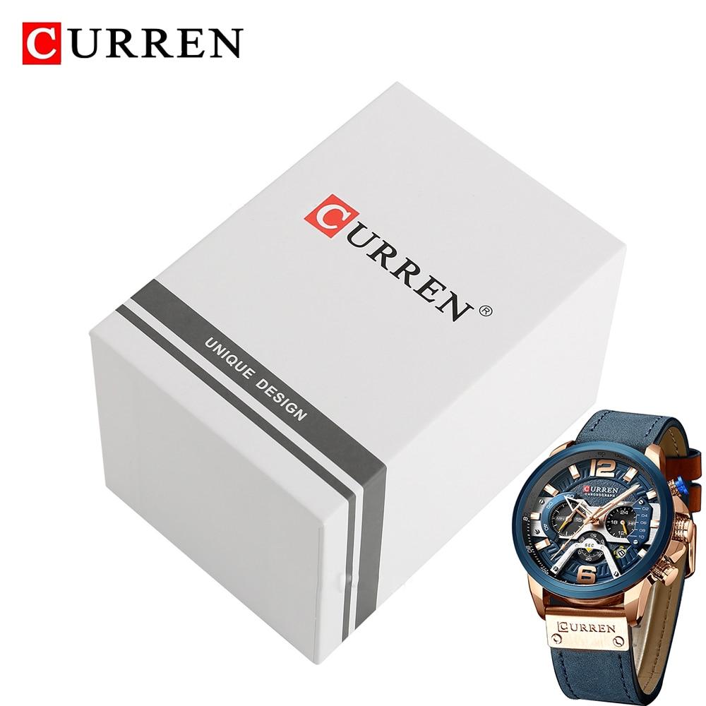 CURREN PAPER GIFT ORIGINAL WATCH BOX 4