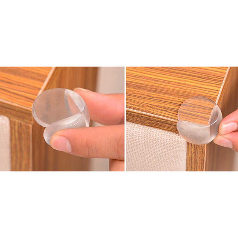 12 pçs criança bebê segurança protetor de silicone mesa canto borda proteção capa crianças anticollision borda & canto guardas