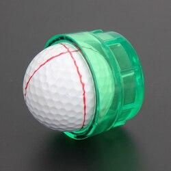 Golf Ausrüstung Praktische Golf Ball Linie Marker Zeichnung Vorlagen Ausrichtung Werkzeug Monogrammer Golf Training Aids