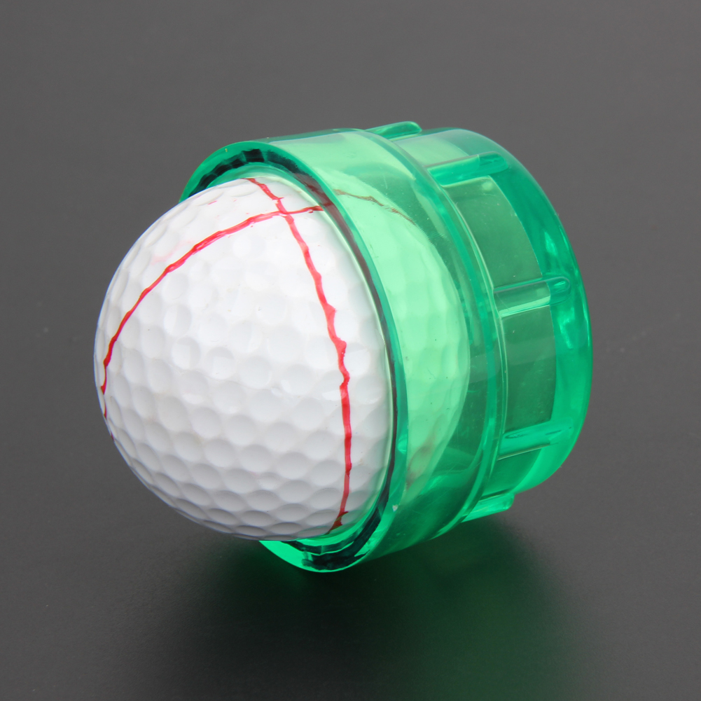Golf Equipment Practical Golf Ball Line Marker Drawing Templates Alignment Tool Monogrammer Golf Training Aids