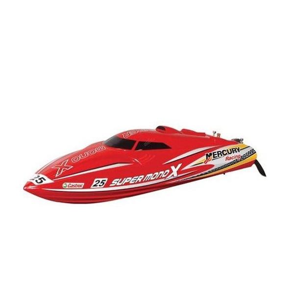 Le plus nouveau Joysway Super Mono X 8209 hors-bord sans brosse o-type v-type rc bateau radio contrôle bateaux pour enfant jouets enfants cadeau