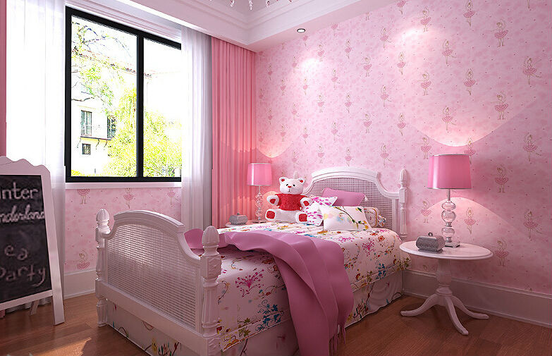 Sofa kids bedroom 3d wallpaper papel de parede modern home for Modern 3d wallpaper for bedroom