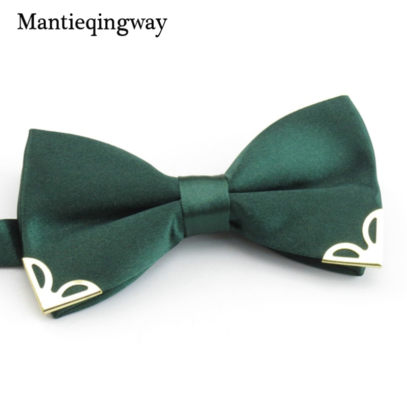 Mantieqingway New Arrival Boys/Girls Ties For Kids Fashion Tuxedo Classic Solid Color Bowtie Children Wedding Party Blue Bow Tie