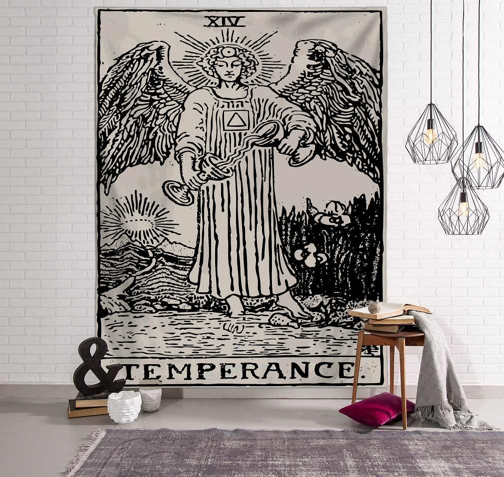 150X100 Cm India Mandala Permadani Wall Hanging Tarot Dinding Permadani Dinding Karpet Psychedelic Tapiz Sihir Dinding Permadani