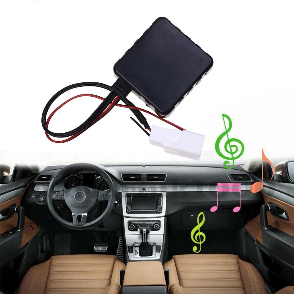 Kongyide 2019 nova moda carro aux cabo wirelessbt adaptador de áudio música áudio cabo módulo uso para 5 pinos julho 18 p30