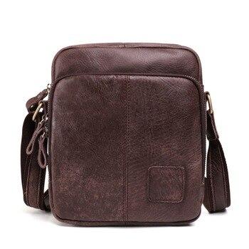 Fashion Leather shoulder bag men Bag High Quality Casual message Bags Shoulder Bag male