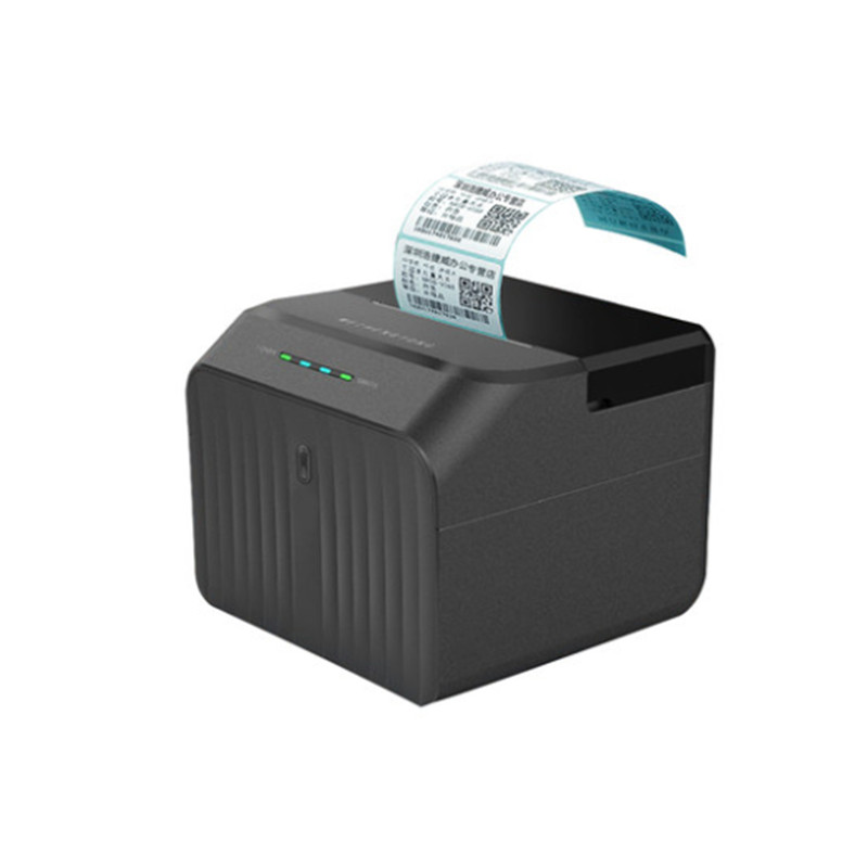 NEW Thermal Printer Clothing Commodity Price Two Dimensional Code Label Sticker Mini Bluetooth