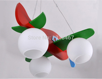 Modern fashion airplane kids pendant for living rooms