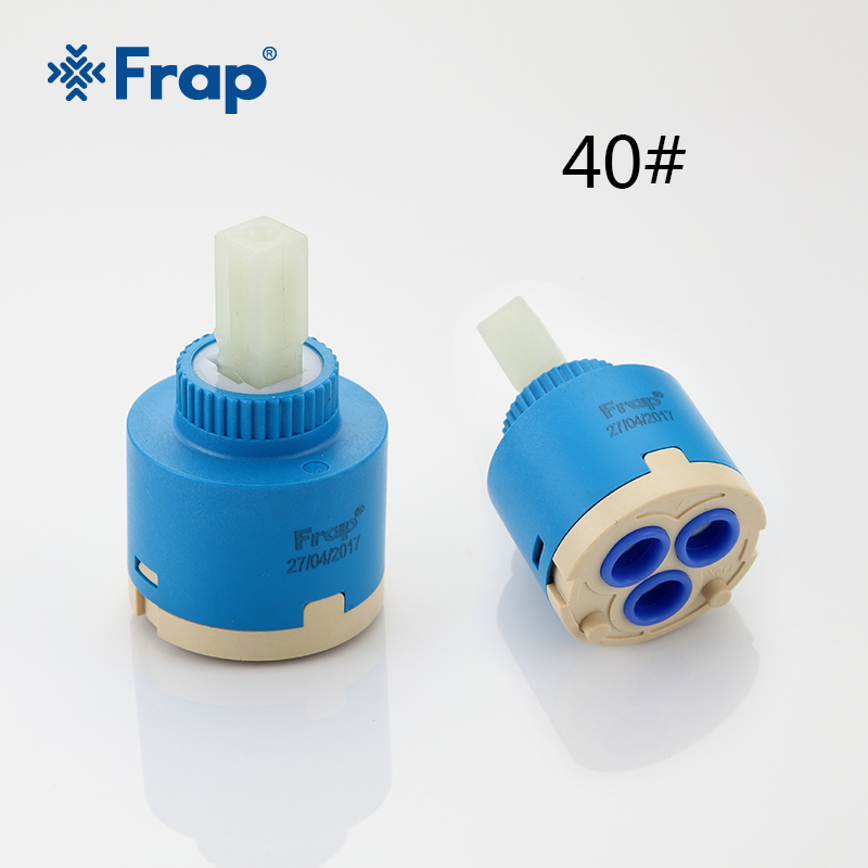 Frap 10pcs 40mm Ceramic Cartridge for Faucet Mixer Low Torque ...