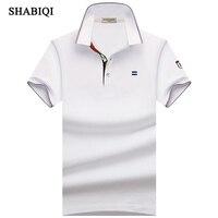 SHABIQI Новые Классические Для мужчин s поло ShirtsShort рукавом Осень Для мужчин рубашка бренды Camisa поло Masculina плюс Размеры 6XL 7XL 8XL 9XL 10XL