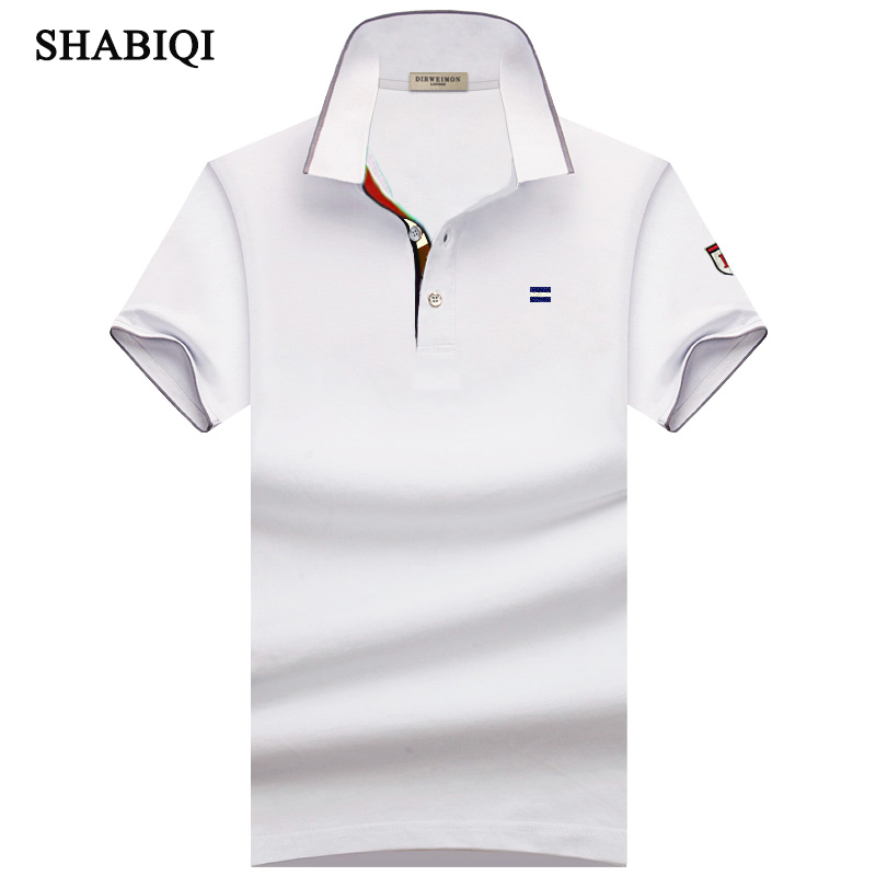 SHABIQI New Classic Mens Polo ShirtsShort Sleeve Autumn  Men's Shirt Brands Camisa Polo Masculina Plus Size 6XL 7XL 8XL 9XL 10XL