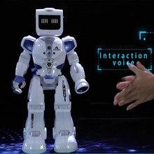 Голосовое управление RC робот с английской музыкой водное Вождение танцы интеллектуальный пульт дистанционного управления Фигурки игрушки