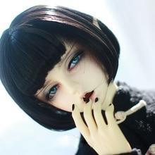 BJD кукольные парики для волос, высокотемпературный провод, короткие парики для 1/3 1/4 1/6 BJD DD SD YOSD кукла, супер мягкие волосы