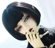 BJD perruques courtes pour poupée, cheveux courts, fil à haute température, pour 1/3, 1/4 et 1/6 BJD, DD, SD, YOSD, cheveux super doux