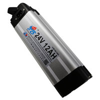 Great Endurance 24V 12AH Lithium ion Chargeable Batteries for E-bikes/All Equipments Power Bank