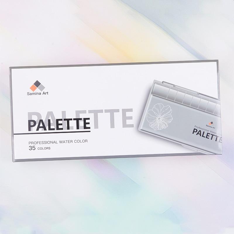 35 wells professional palette Polycarbonate material 35 wells professional palette Polycarbonate material