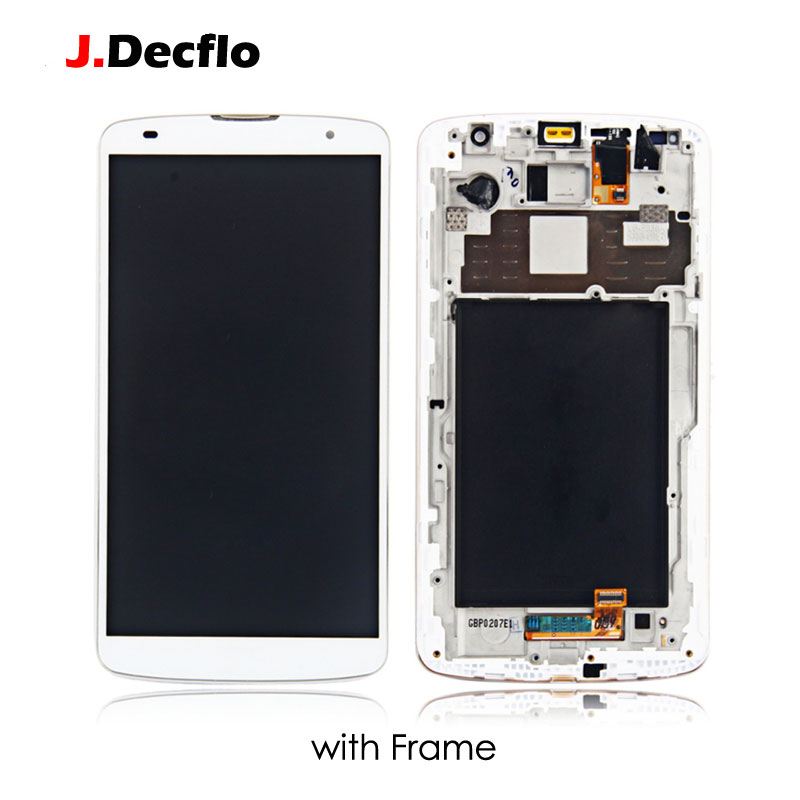 For LG Optimus G Pro 2 F350 D837 D838 LCD Display Touch Screen With No Frame Digitizer Full Assembly Original 5 9 39 39 Black White in Mobile Phone LCD Screens from Cellphones amp Telecommunications