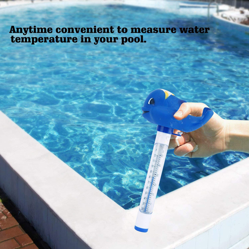 Jacuzzi In The Pool Us 4 35 21 Off Pool Spa Jacuzzi Hot Tub Floating Animal Thermometer With F C Display For In Ground Above Ground B2cshop In Pool Accessories
