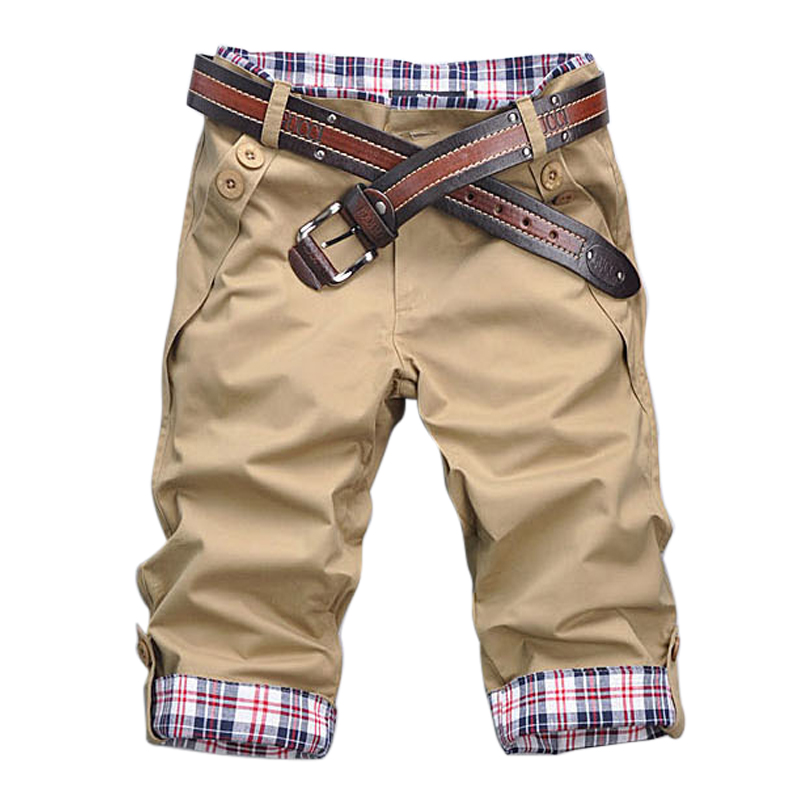 Hot Sale 2018 Summer Sweatpants Men Calf-length Pocket Track Pants Causal Slim Fit Bodybuilding Sweat Pants Tactical Trousers
