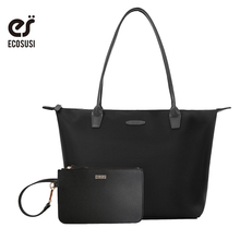 ECOSUSI 2018 New Nylon Bags Women Soft Handbags Brand Design Women Messenger Bags Ladies Crossbody Bag Female Handbag