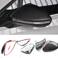 Replacement Style For VW for Volkswagen Golf 7 R Gti 2013 2014 2015 Carbon Fiber Rear View Mirror Car Styling 2pcs per set