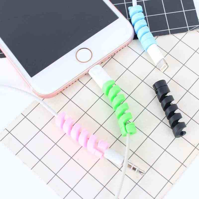 Protector de Cable para Huawei P30 Pro P20 Lite P30 Lite P Smart 2019 de caso de teléfono de accesorios para Iphone 11 Pro Max 6 7 8 Plus X XS X 5