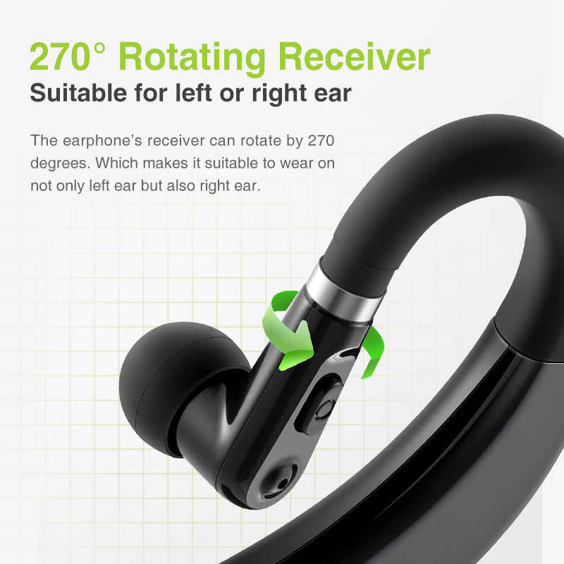 SANLEPUS M11 słuchawki Bluetooth słuchawki bezprzewodowe słuchawki zestaw głośnomówiący douszne słuchawki z mikrofonem HD do telefonu iPhone xiaomi Samsung