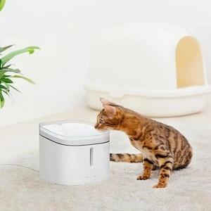 Image 3 - מקורי Xiaomi חתלתול גור לחיות מחמד מתקן מים מזרקת אוטומטי חתול מים חיים 2L חשמלי לחיות מחמד חכם כלב שתיית קערה