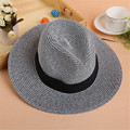 Wide Brim Sun Hat For Women Women's Summer Straw Hats Solid Color  Girls Summer Sun HatsHoliday Beach Sun Cap Women Straw Hats