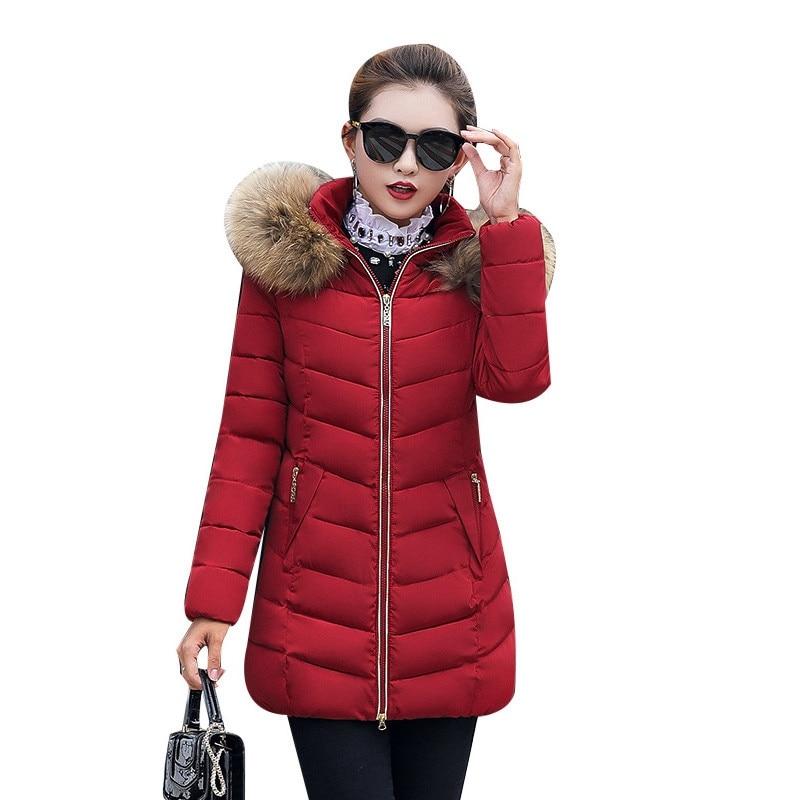 Hot Sale Winter Jacket Ladies Parka Women Winter Warm Coat Women's Long Jacket Women's Winter Jackets Hooded Warm Female Coats