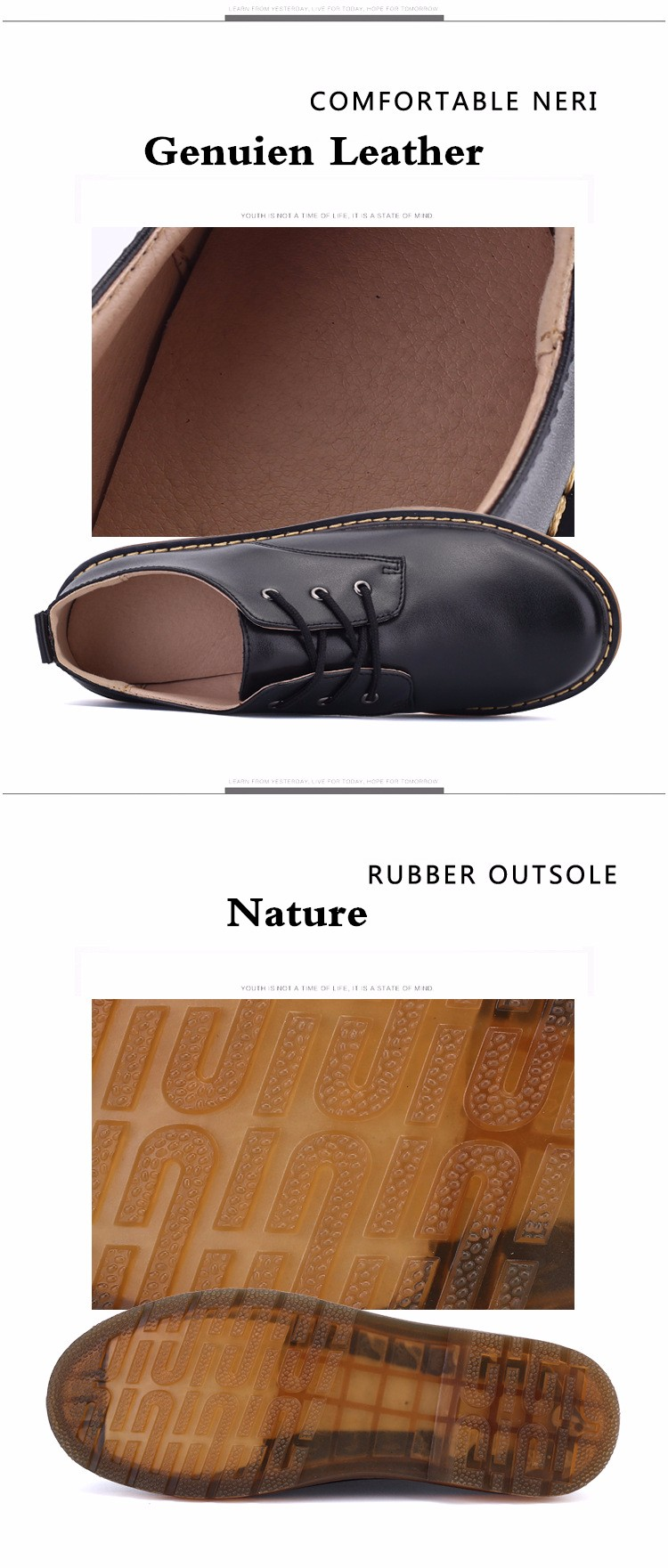 KUYUPP Fashion England Genuine Leather Shoes Women And Men Flats Oxfords Casual Lace Up Ladies Shoes Round Toe Men Loafers PX128 (13)