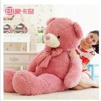 Stofftier größte 160 cm rosa schöne teddybär plüschtier bär puppe freundin geschenk w2091