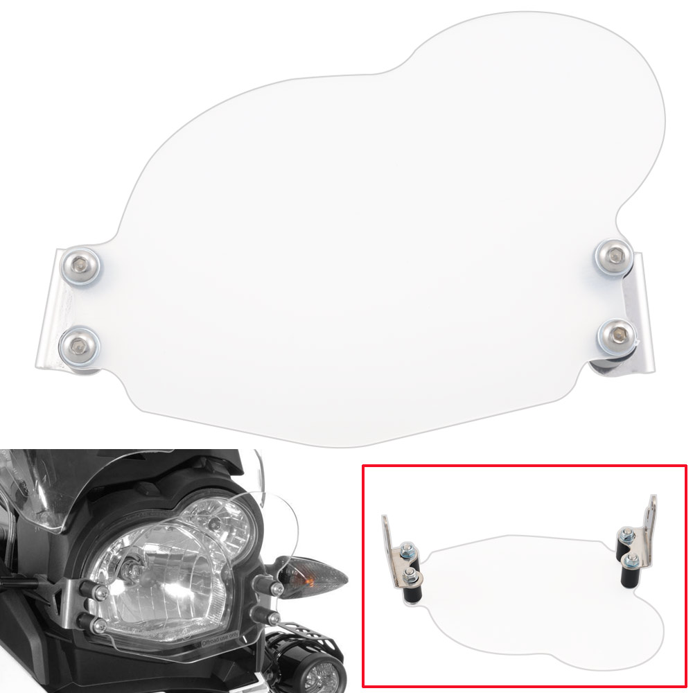 Headlight Cover Clear Lens Front Lamp Guard Protector For 2011-2017 <font><b>BMW</b></font> G650GS <font><b>G</b></font> <font><b>650</b></font> GS Motorcycles image