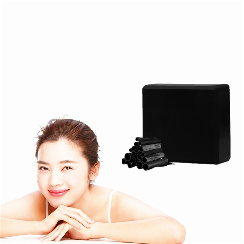 1PCS Bamboo Charcoal Dark Skin Whitening Black Spots Beauty Soap Body Skin Whitening Moisturizing Soap For Sunburn Mild Repair
