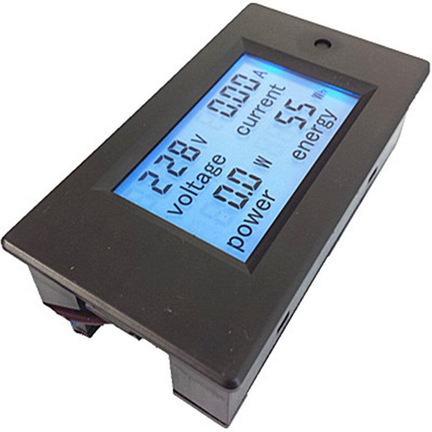 Amperometro digitale monofase Voltmetro AC 80-260 V 100A 4IN1 - Strumenti di misura - Fotografia 4