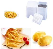 1PC Perfect Fries Potato Chips Fry Cutter Vegetable French Fry Cutter Vegetable Fruit Cutter Slicer Tool Ovoshtezka OK 0305