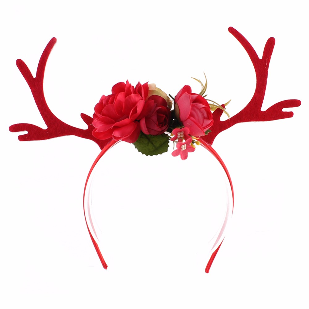Medium Crop Of Reindeer Antlers Headband