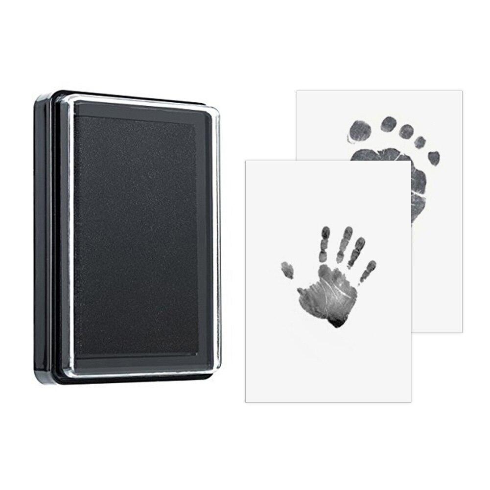 Baby Handprint Footprint 100% Non-Toxic Newborn Imprint Hand Inkpad Watermark Infant Souvenirs Casting Clay Toys Gift