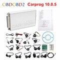 Лучшее качество ECU чип тюнинг инструменты Carprog V10.0.5 полный комплект Автомобильный Prog полный ремонт программист Интерфейс Все 21 адаптер