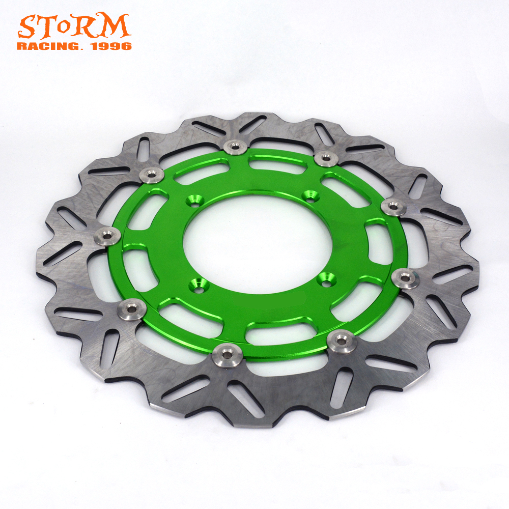 320MM Front Floating Brake Disc Rotor For KX125 KX250 06 07 08 KXF250 KXS250F 06-15 KLX450R KLX 450R 07-15 KXF450 KX450F 06-15