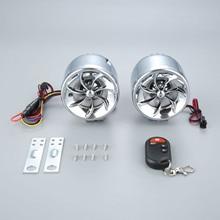 MT483 Motorcycle Speakers Waterproof Audio Radio MP3 Music Player Moto Theft Protection