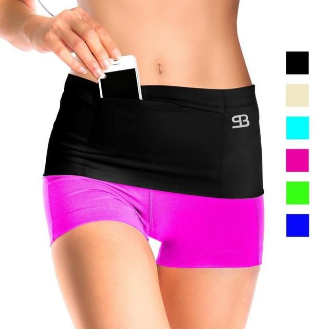 Ultra - wide sports Outdoor Running Waist Bag Gym Fitness Bag Sport Accessories 1