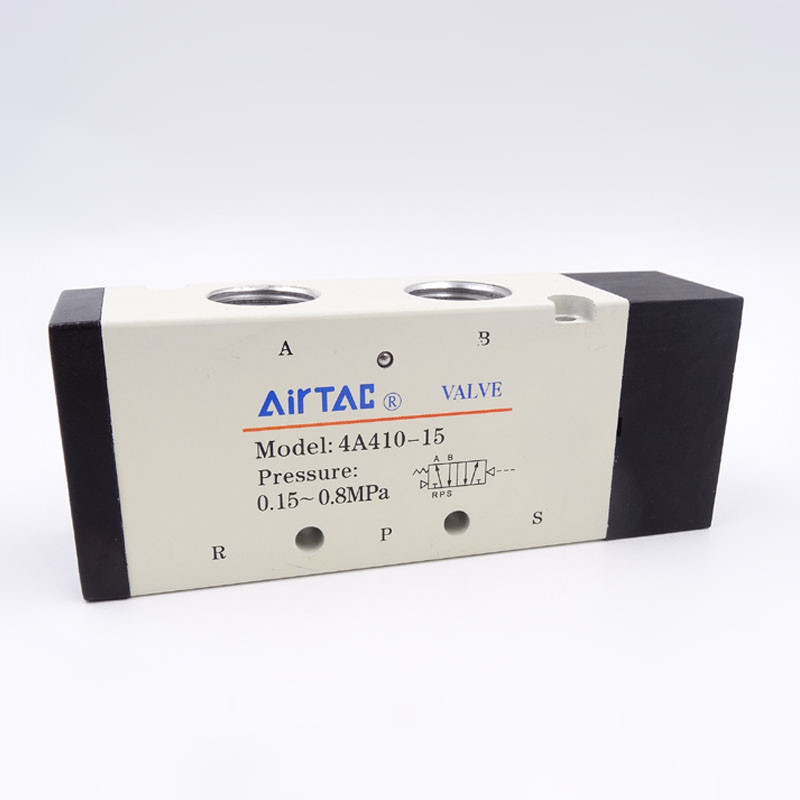 Pneumatic Air Valve Airtac Type 4A410-15 Port 1/2 Inch 5 Way 2 Position Air Control Valve