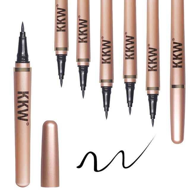 Black Eyeliner Pencil Fast Dry Liquid Eye Liner Pen Women Eyes Makeup Waterproof Eyeliners Make up Cosmetic Tool 1