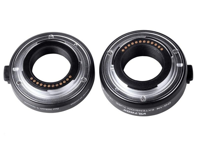 Viltrox DG-1N Auto Focus caméra Macro rallonge Tube 10mm + 16mm adaptateur Set pour Nikon 1 monture objectif J1 J2 J3 V1 - 6