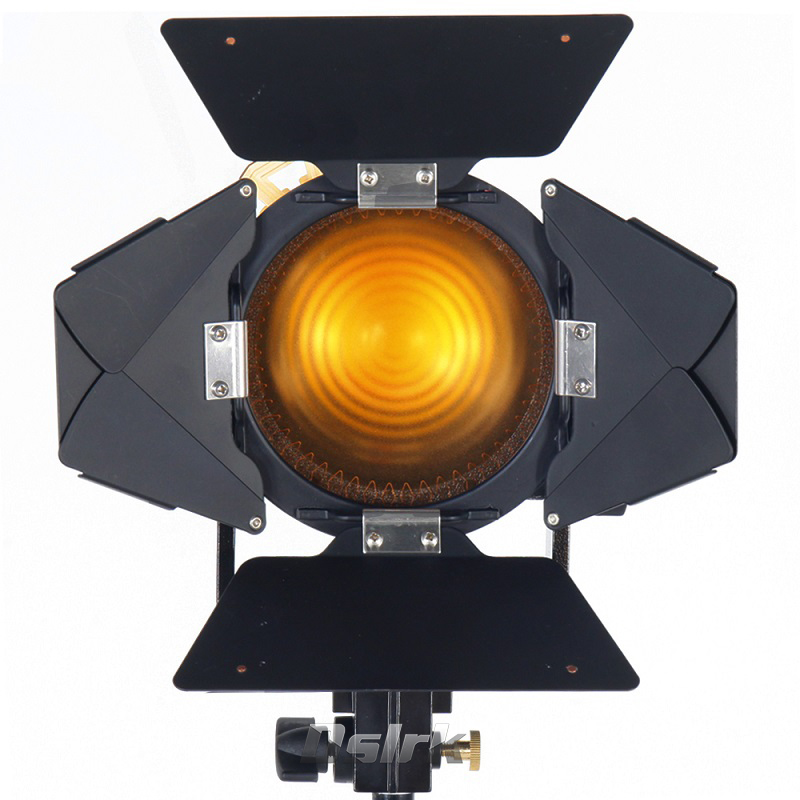 Portable 80W Bi-color LED Spotlight for Camera Video Continuous Light Photography Dimmable 3200K/5600K Fotografica Spot Light new bi color 4ft 4 bank led kinoflo 3200k 5600k dimmable daylight with ballast for film lighting high cri for broadcasting