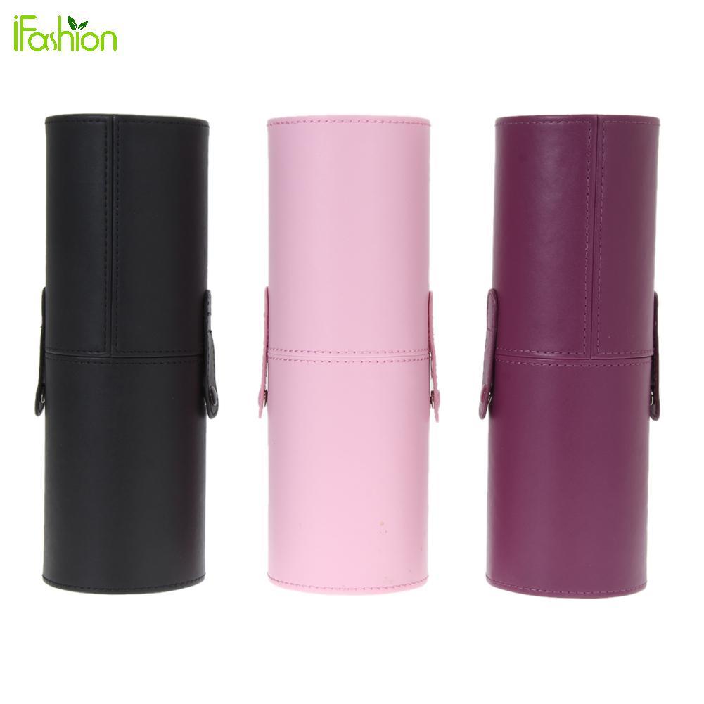 8 9 Travel PU Leather Travel Cosmetic Brushes Pen Holder Storage Empty Holder Makeup Artist