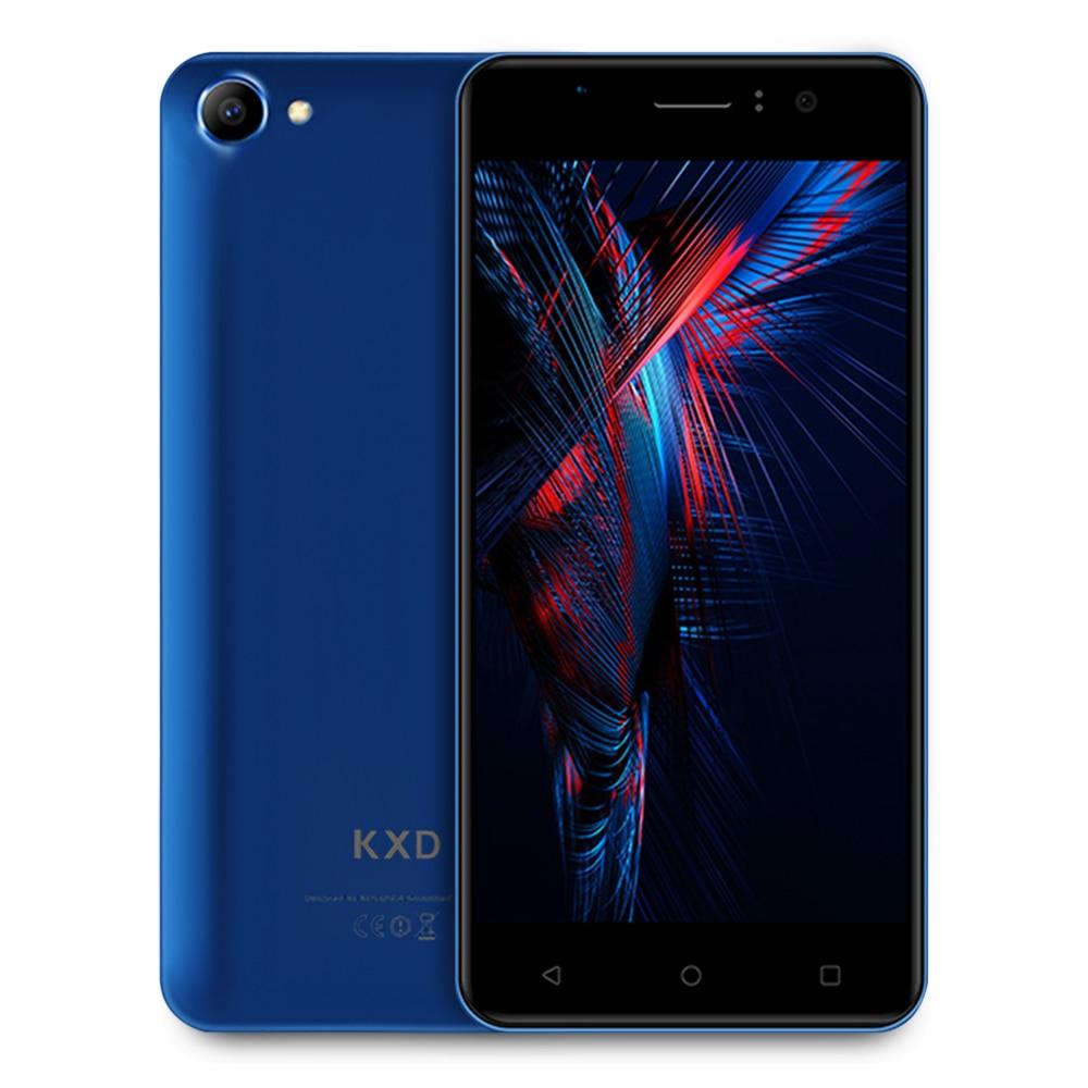 D'origine KENXINDA W50 3g Smartphone Android 6.0 OS 5.0 pouce MTK6580 Quad Core 1.3 ghz 1 gb RAM 8 gb ROM 5.0MP Caméras 2100 mah