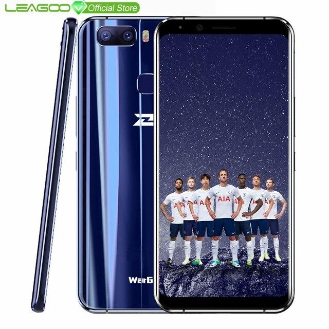 """Глобальная версия LEAGOO S8 Pro WarGod смартфон 5,99 """"18:9 Android MTK6757 Восьмиядерный 6 ГБ Оперативная память 6 4G B Встроенная память отпечатков пальцев 4G мобильный телефон"""